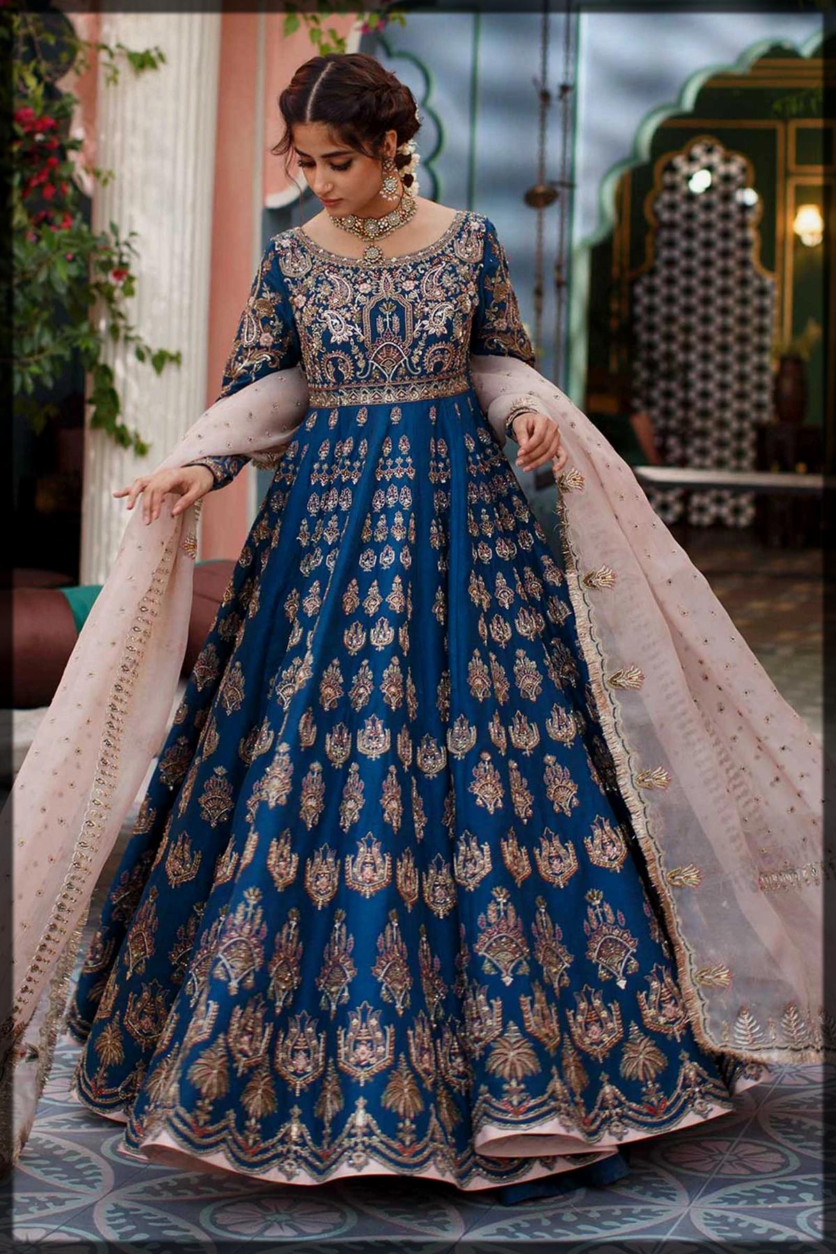 classical Zara Shahjahan Bridal Collection