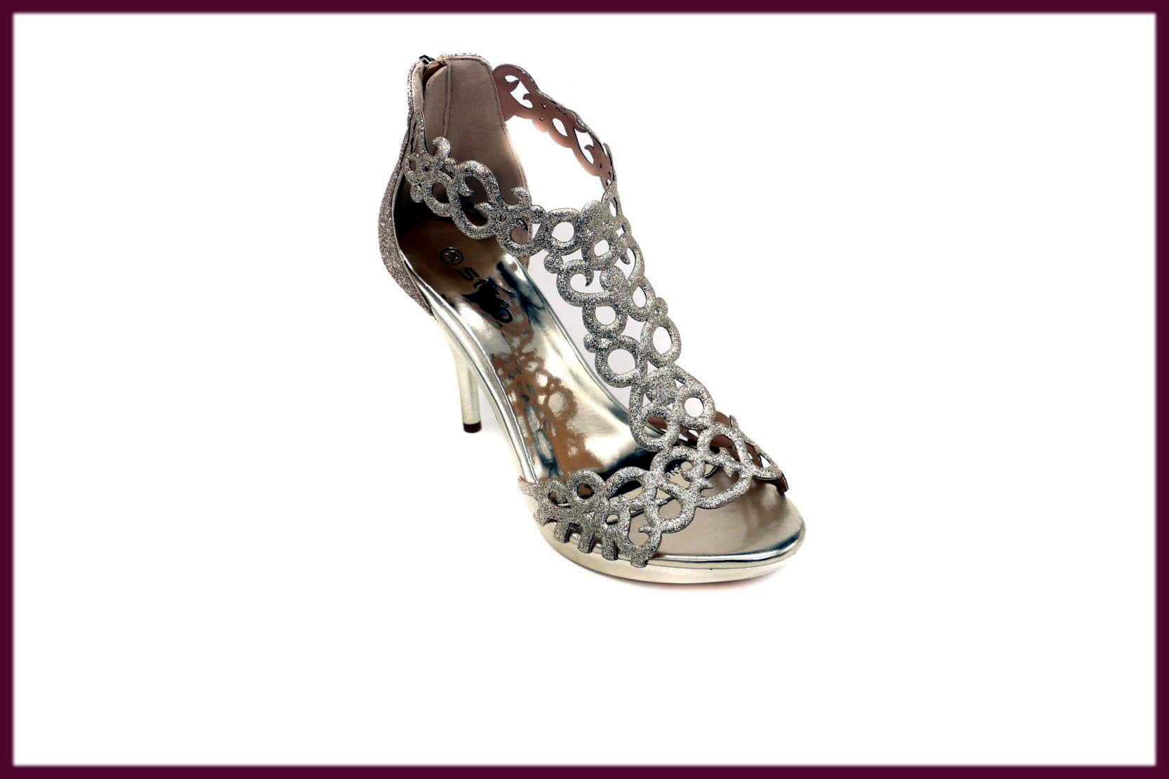 classy bridal summer shoes