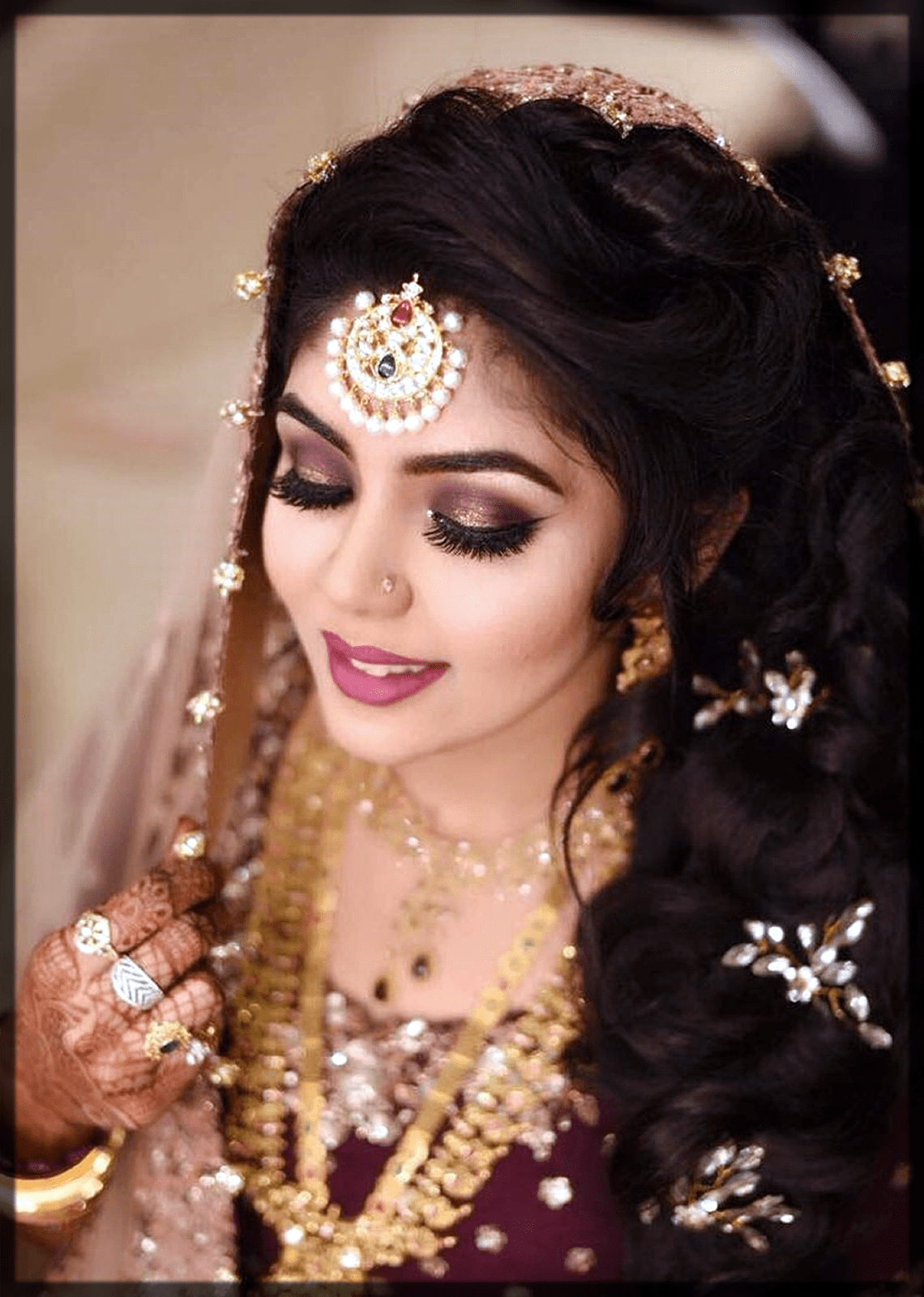 classy indian bridal makeup ideas