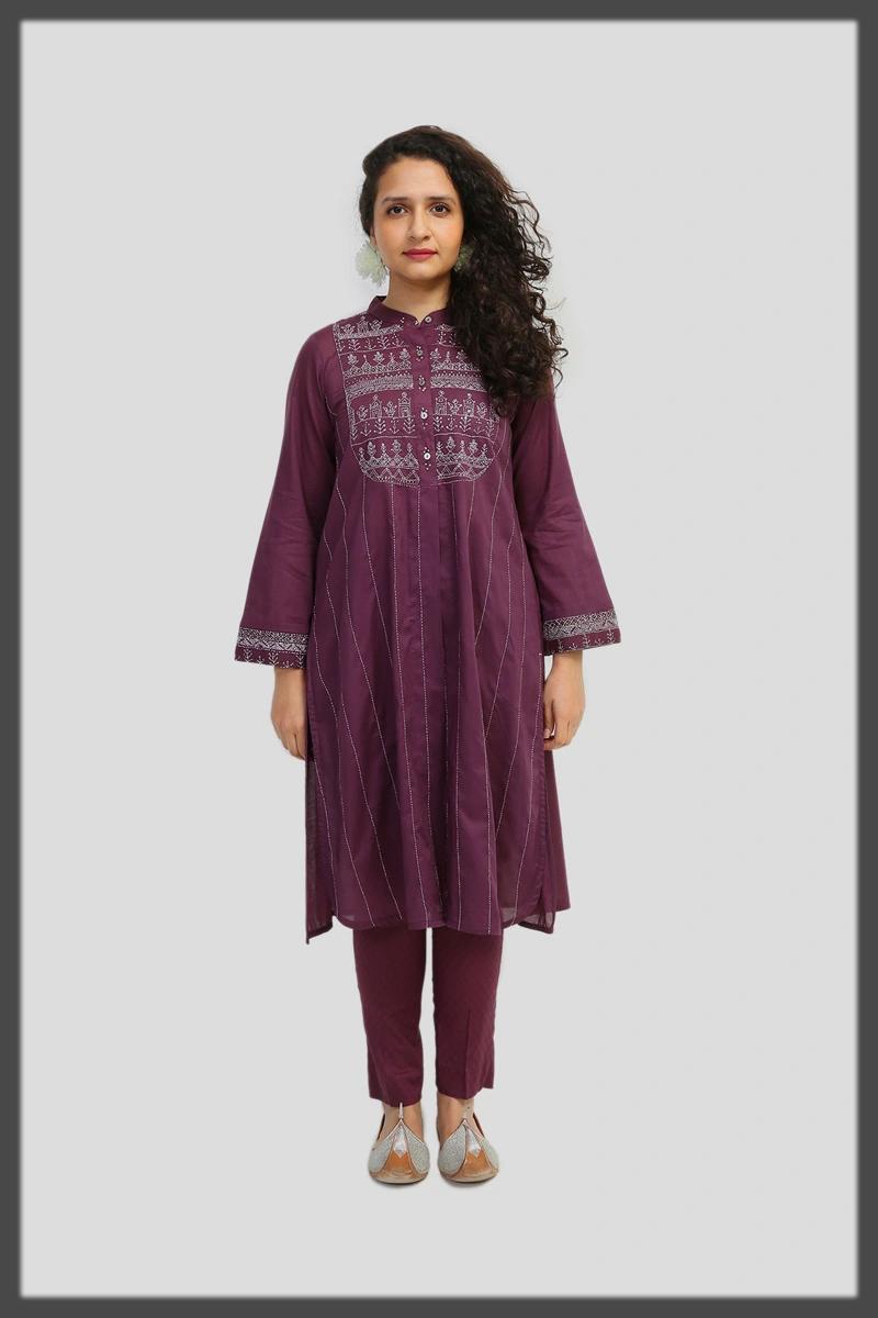 classy purple summer dress
