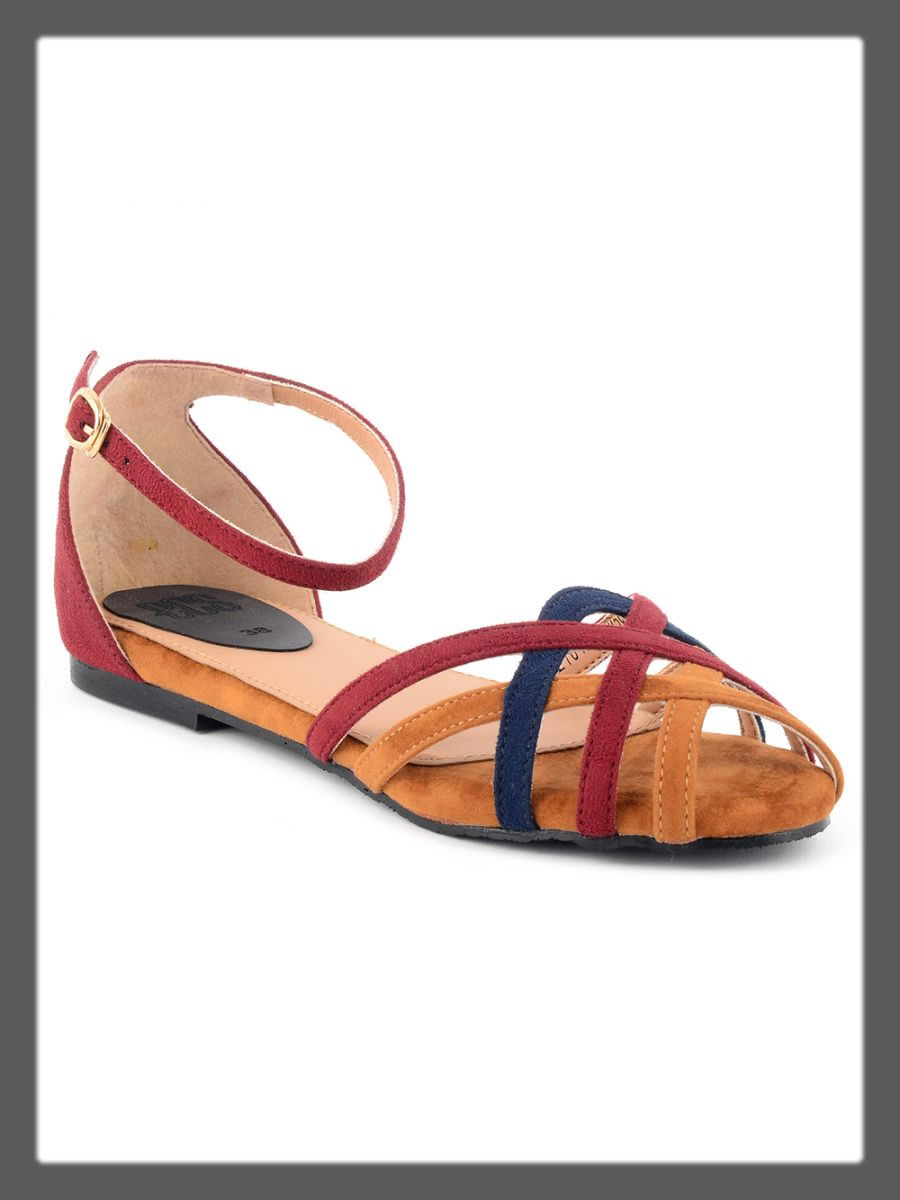 colorful sandals for teens