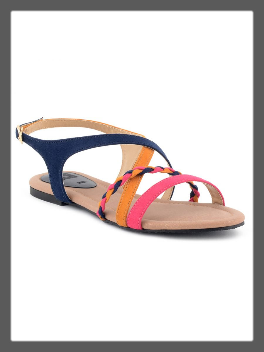 colorful sandals for women