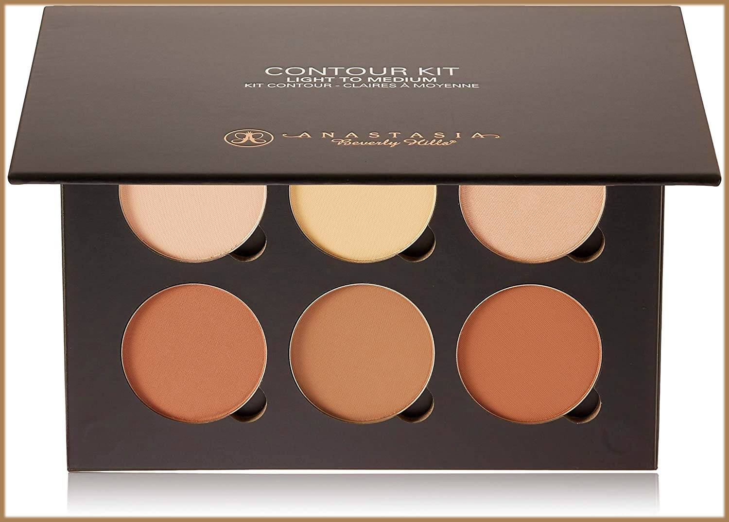 contouring kit to make your nose look thinner