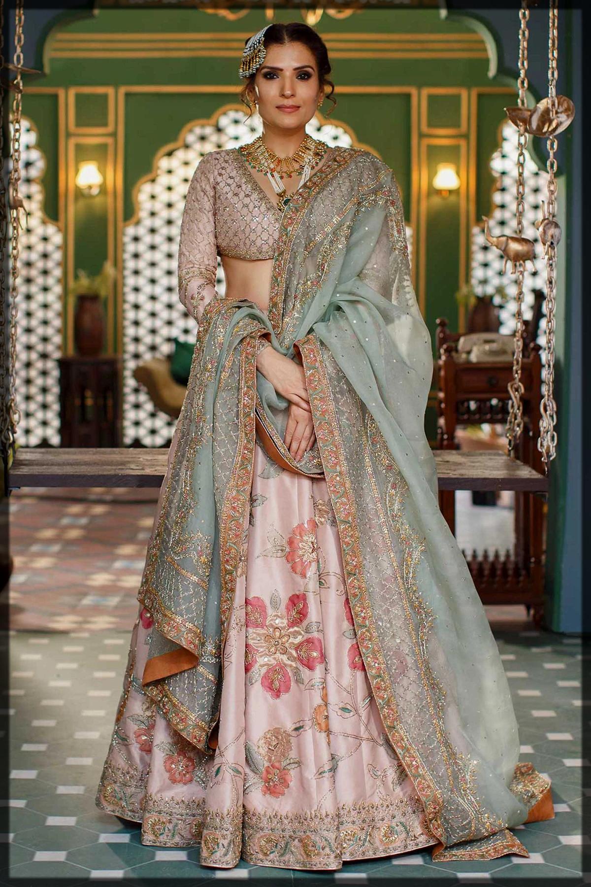 cool walima lehenga choli for brides