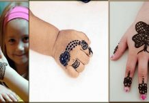 Cute Mehndi Designs For Kids And Teenage Girls 2020 Collection