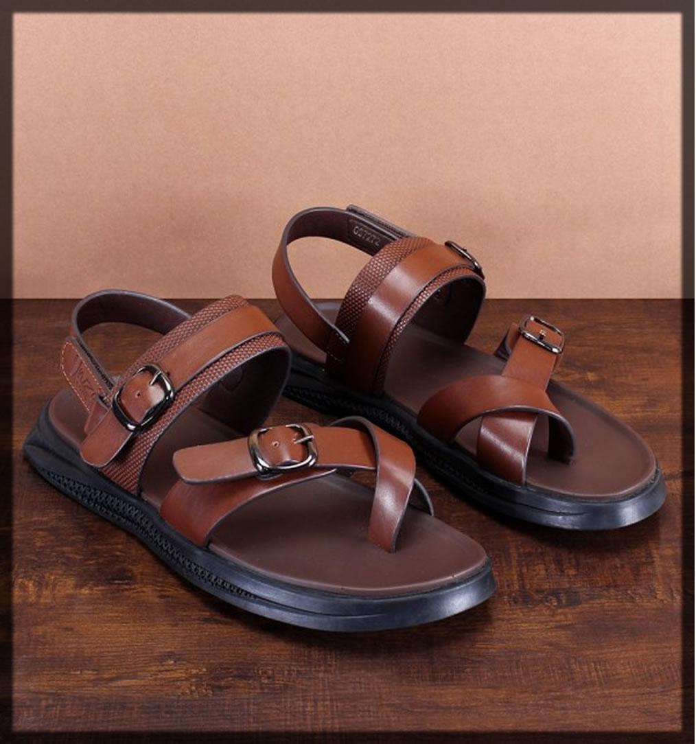 dark brown summer sandals