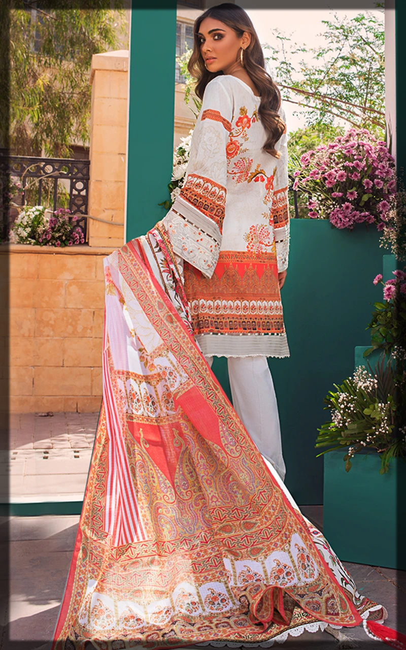 dazzling Threads and Motifs Lawn Collection
