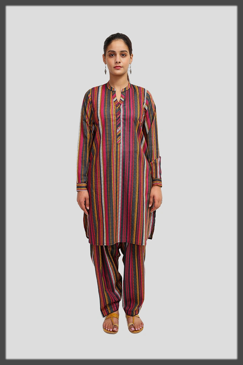 dazzling two piece suit by generation