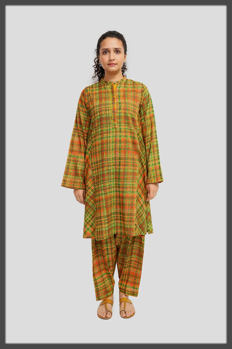 digital printed summer two piece suit by generation