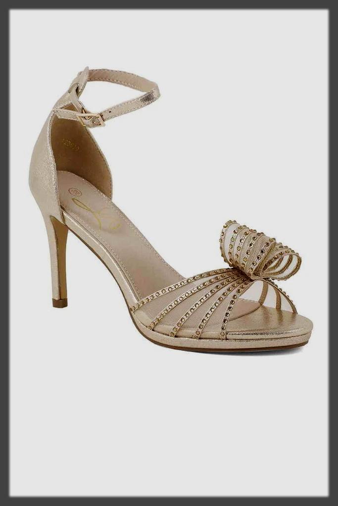 fancy cone heel shoes for teens
