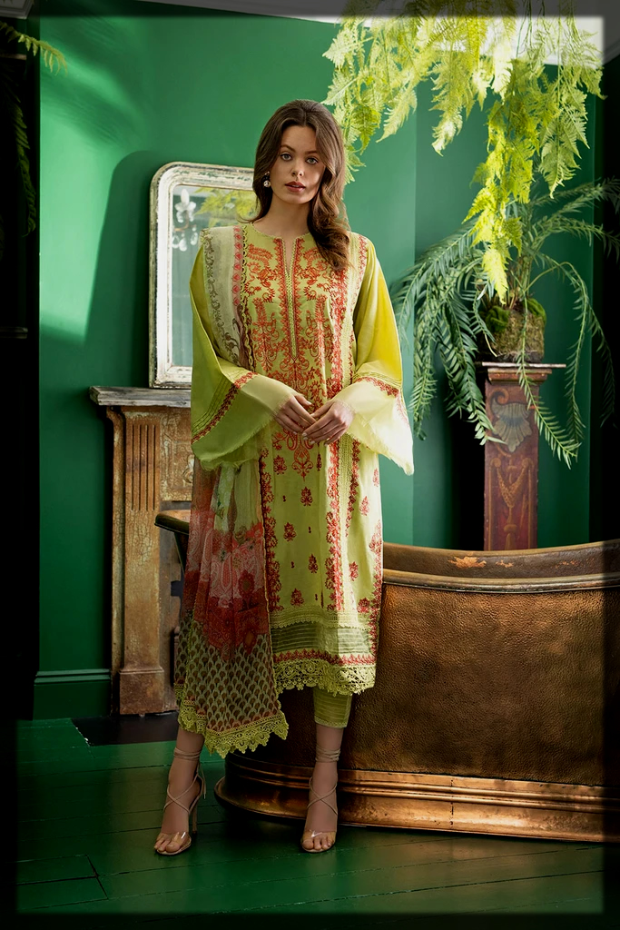 formal summer party dress by Sobia nazir