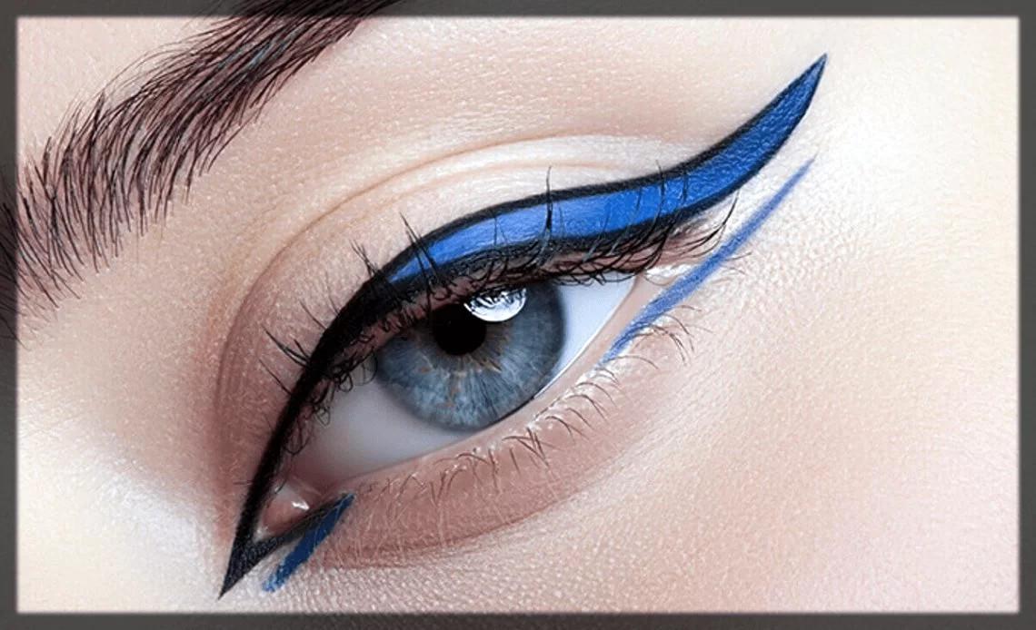 funky eyeliner