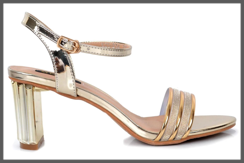 golden splendid heels