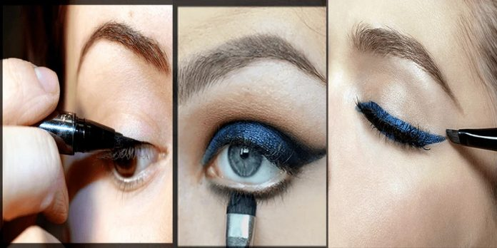 how to apply eyeliner easily