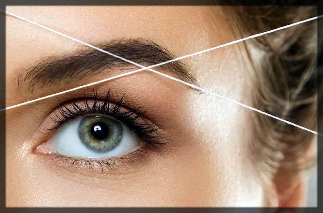 how to thread your brows
