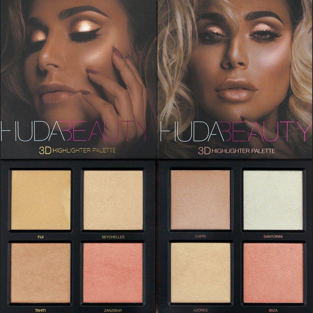 huda beauty higlighting Palette for all skin tones
