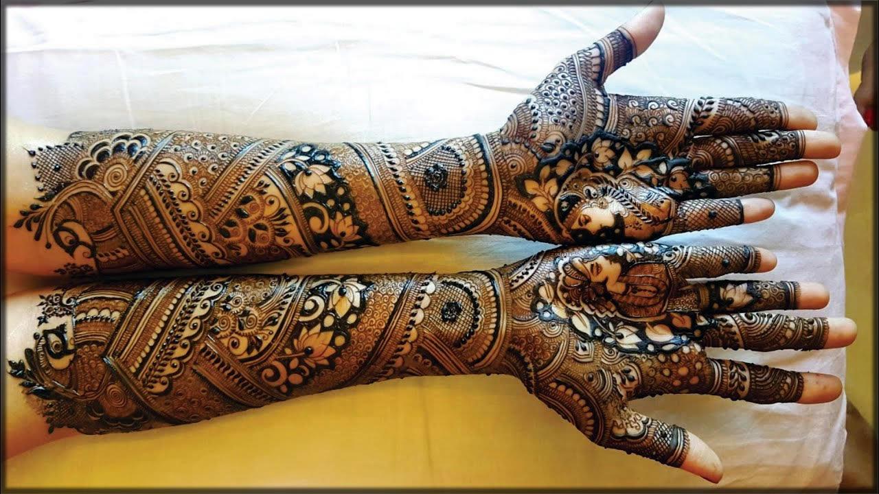 indian black mehndi designs