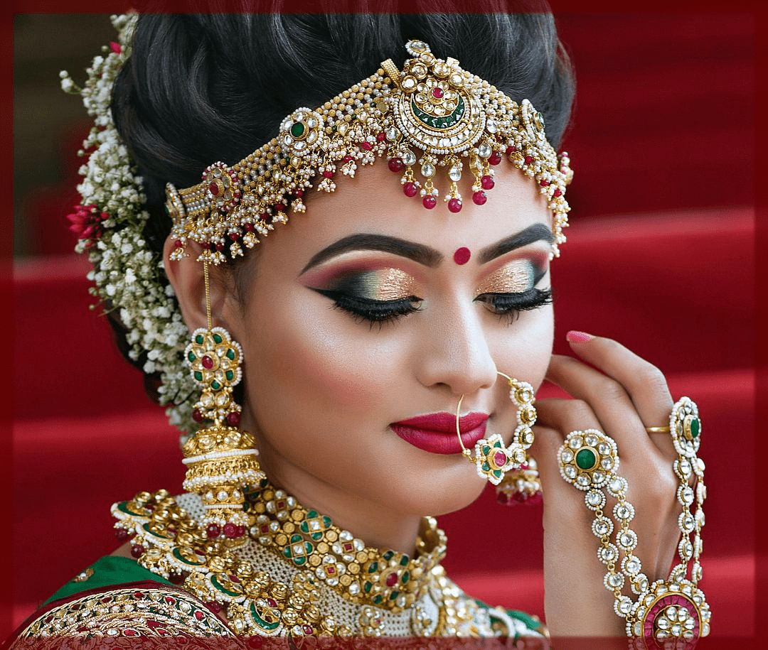 indian bridal makeup look ideas