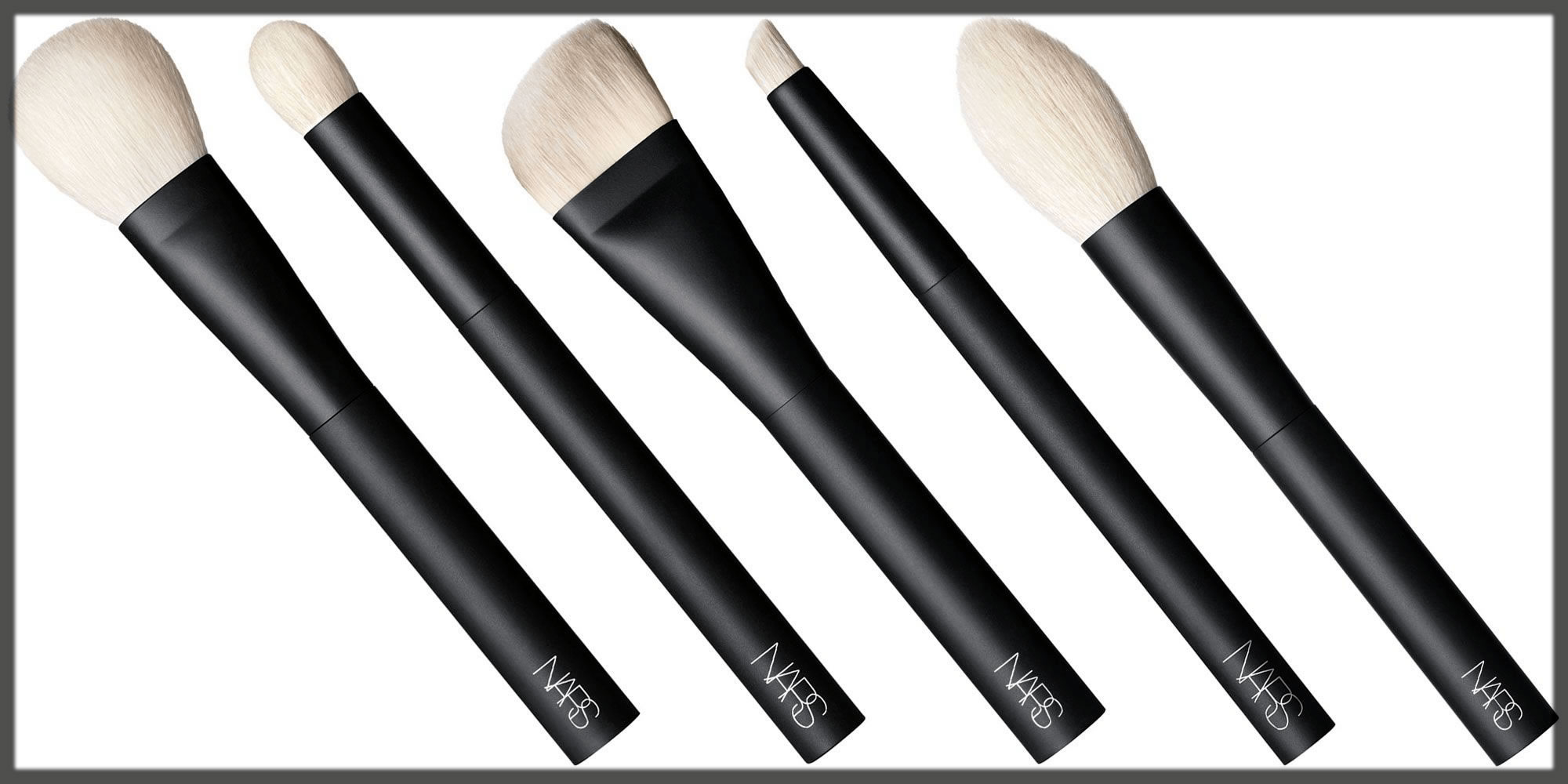 latest NARS Brushes collection