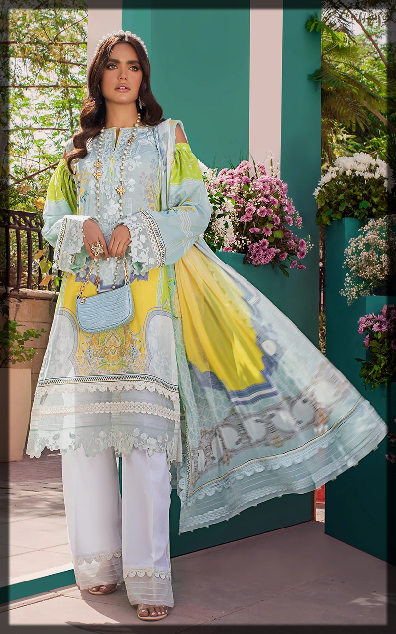 latest Threads and Motifs Lawn Collection for women