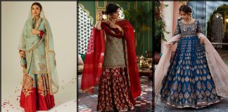 Zara Shahjahan Bridal Collection 2021 [New Lehenga Choli Dresses]