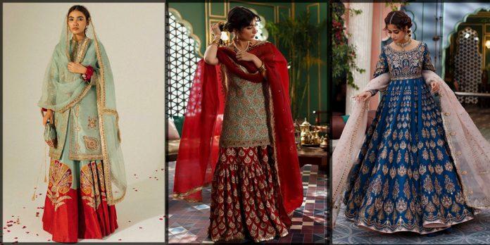 latest Zara Shahjahan bridal dresses for women