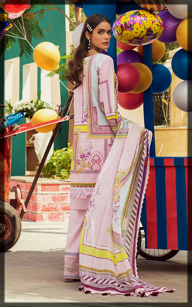 latest summer lawn suit by threads and motifs