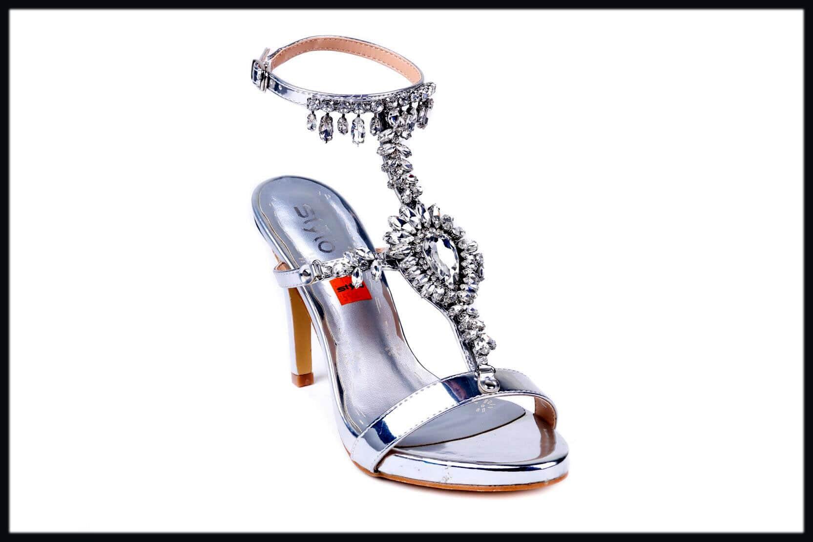 long heels bridal shoes-