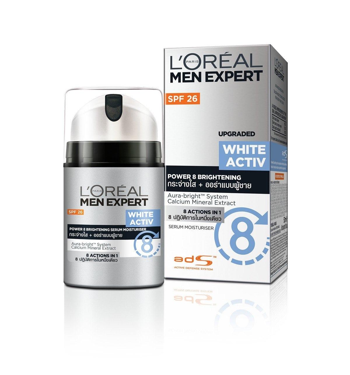 loreal face whitening cream for men