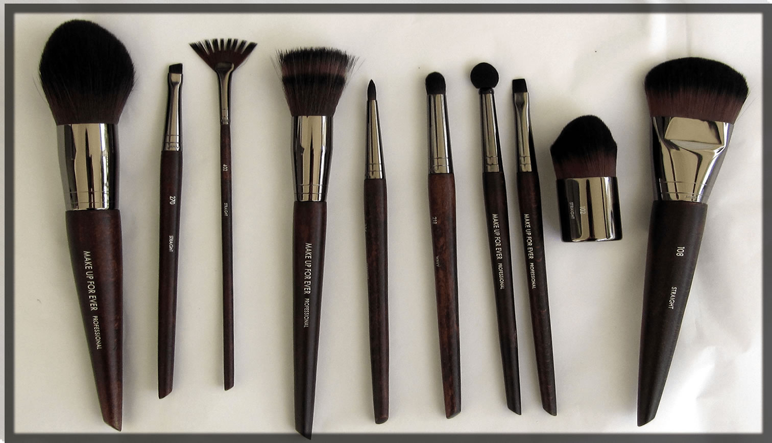 makeup for ever Brushes collection