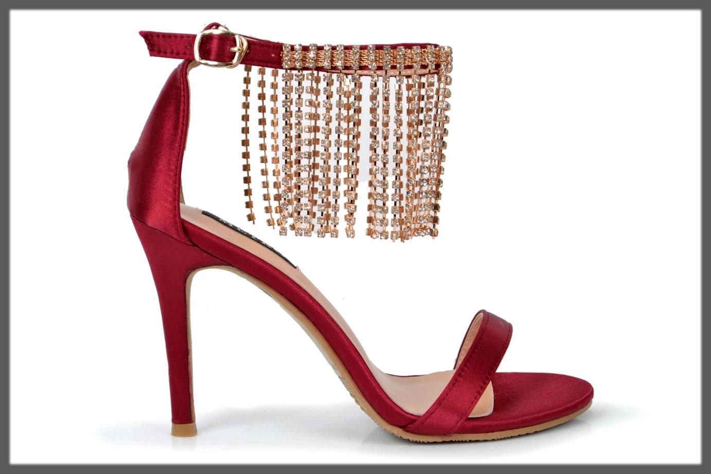 maroon heels for girls