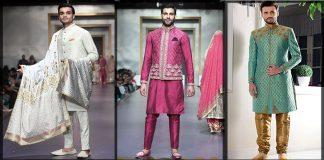 Mehndi Dresses for Groom 2021 - Superb Pakistani Men Mehndi Dresses
