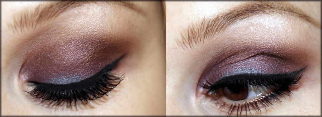 natural makeup of eyes