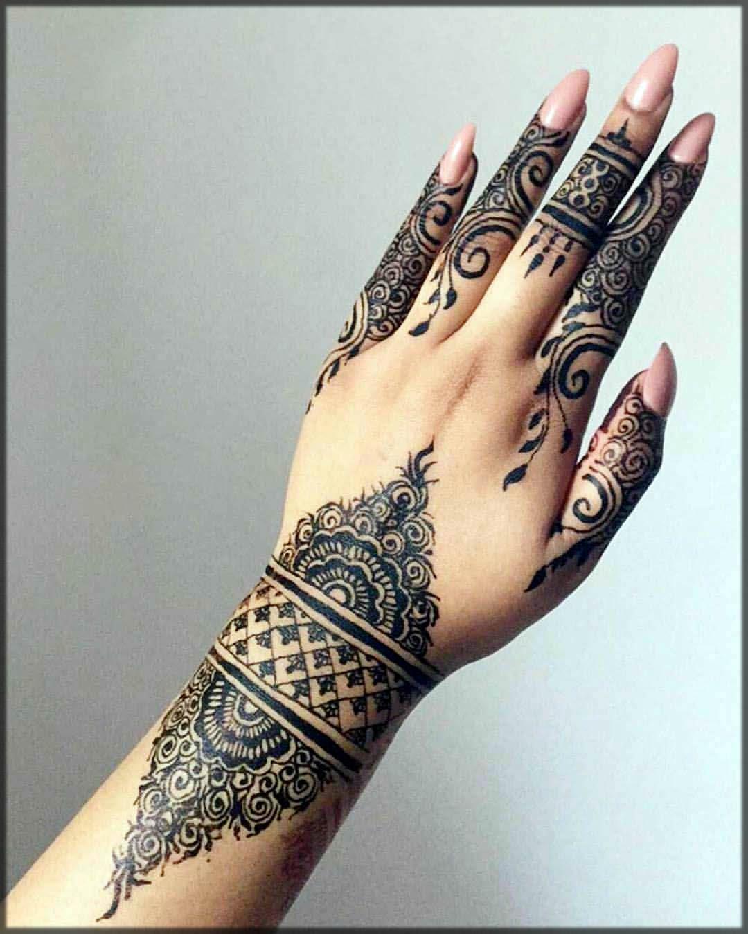 new styles of henna