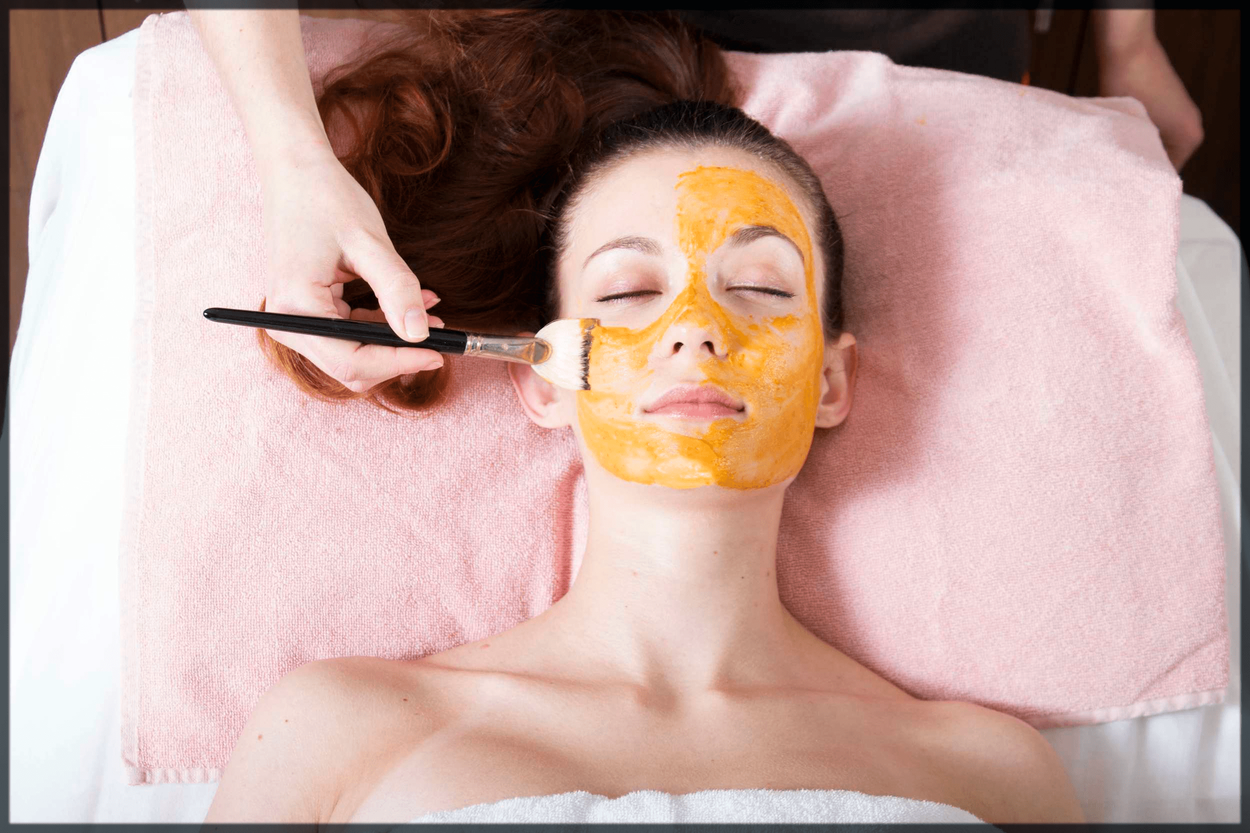 orange face mask for whiten skin