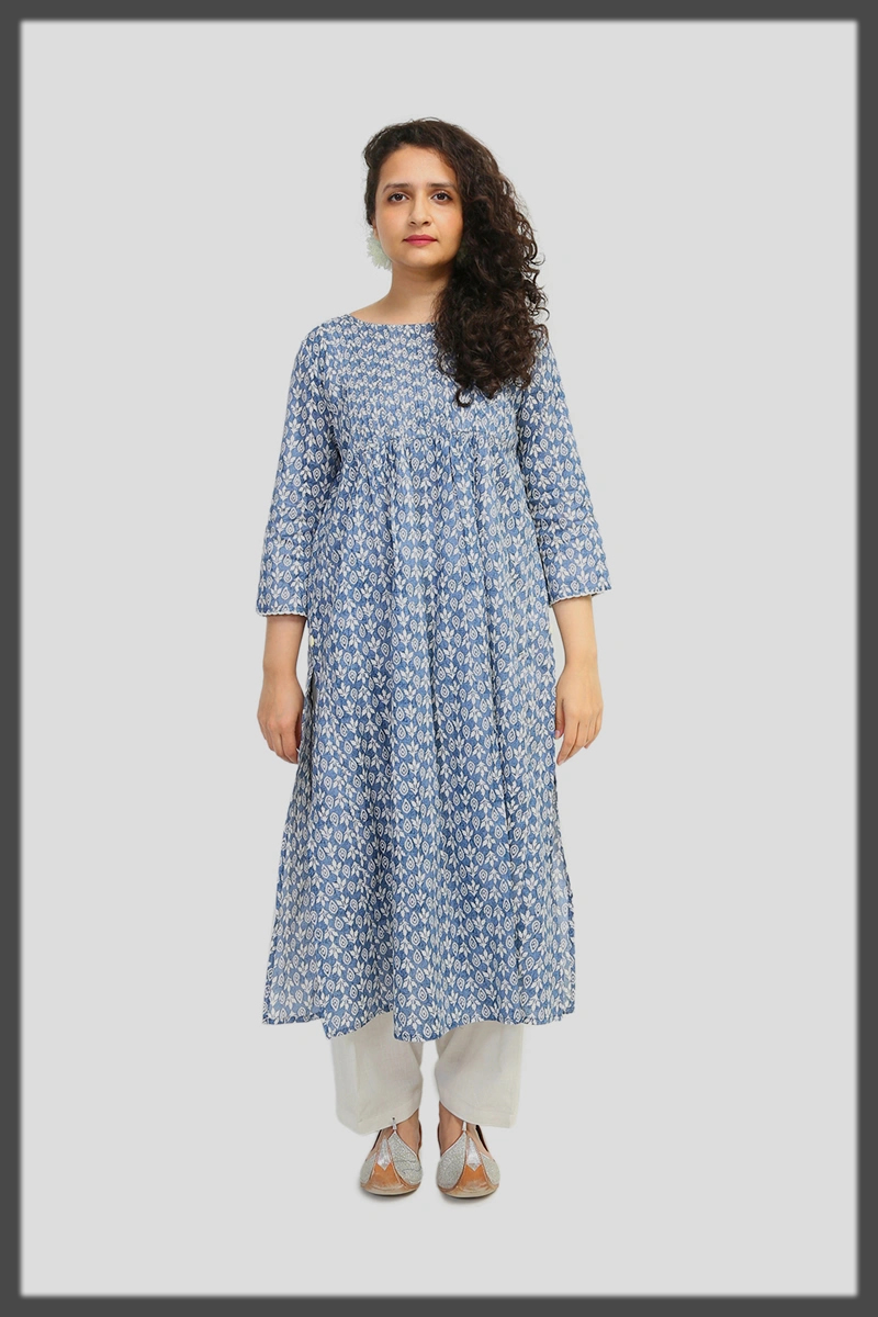 printed frock collection