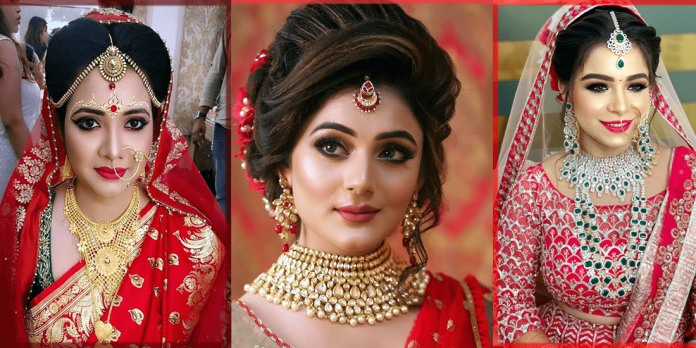 striking indian bridal makeup looks ideas