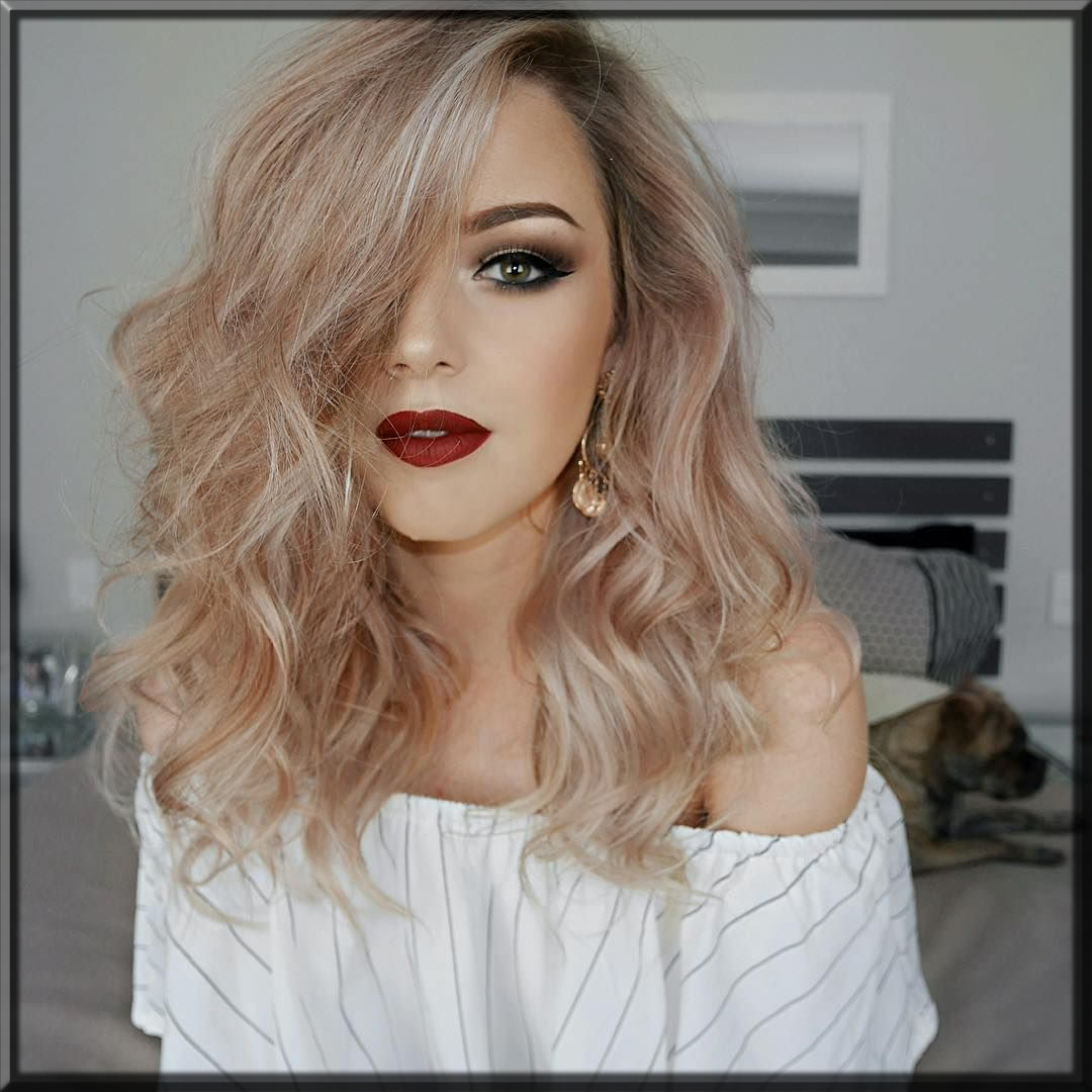 sty;ish and latest summer makeup look