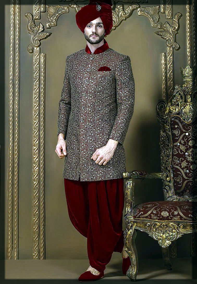 stylish Barat Dresses For Groom latest collection