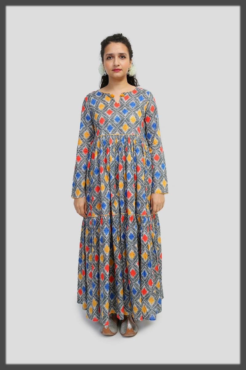 summer lawn frock collection