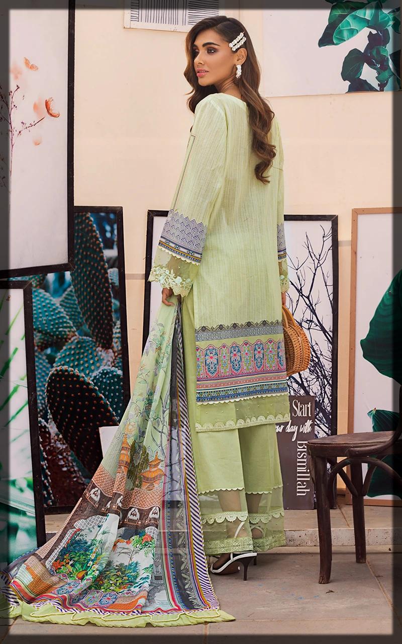 summer luxury lawn suit for women