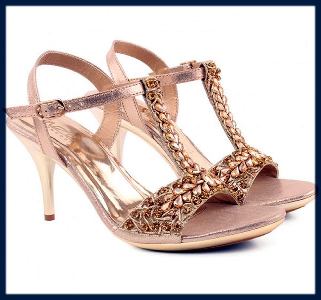 unze bridal wedding shoes