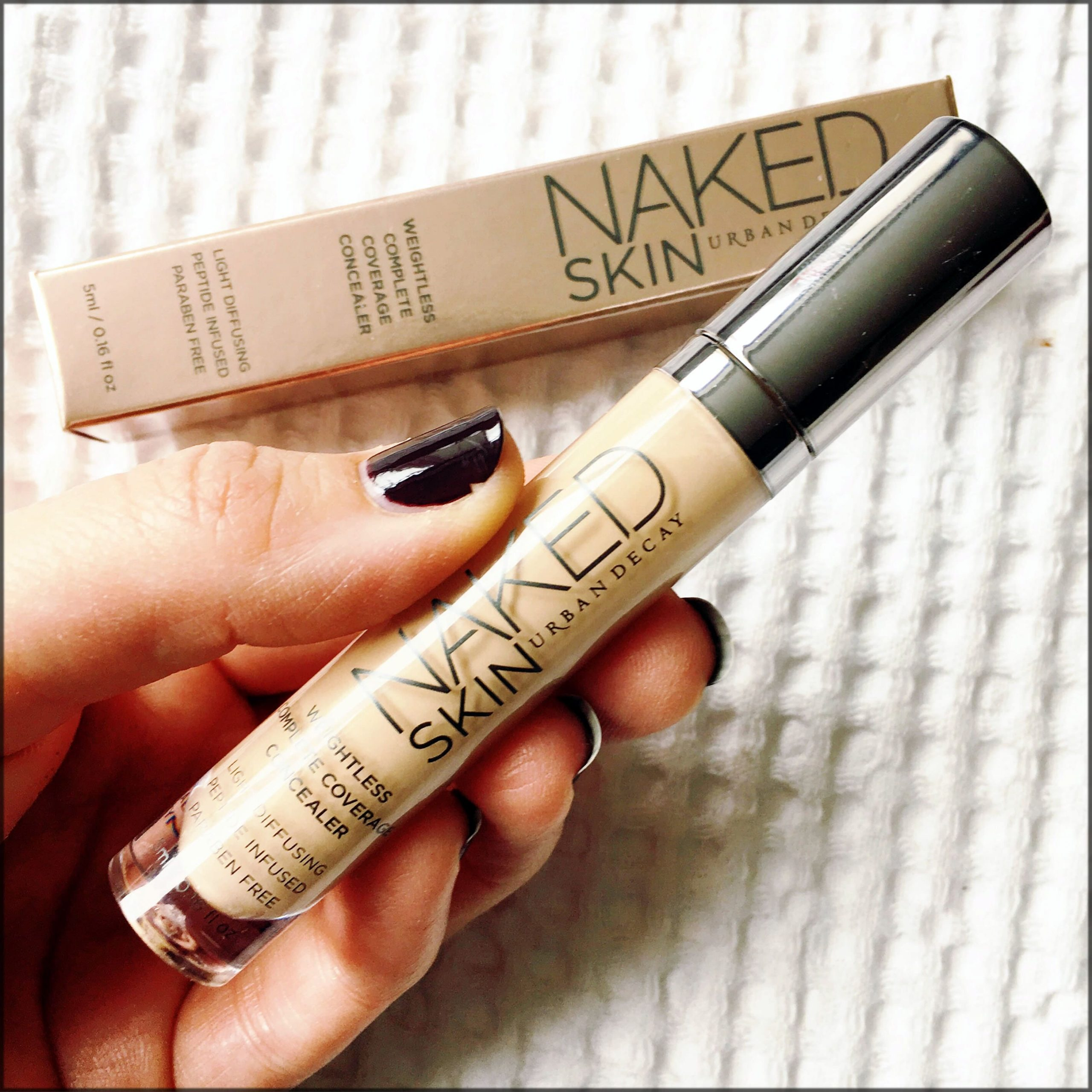 urban decay naked skin for oily skin