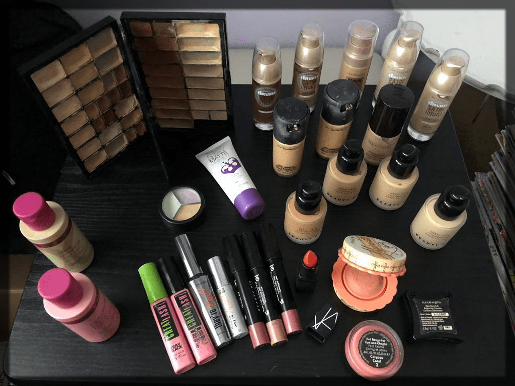 water proof makeup collection