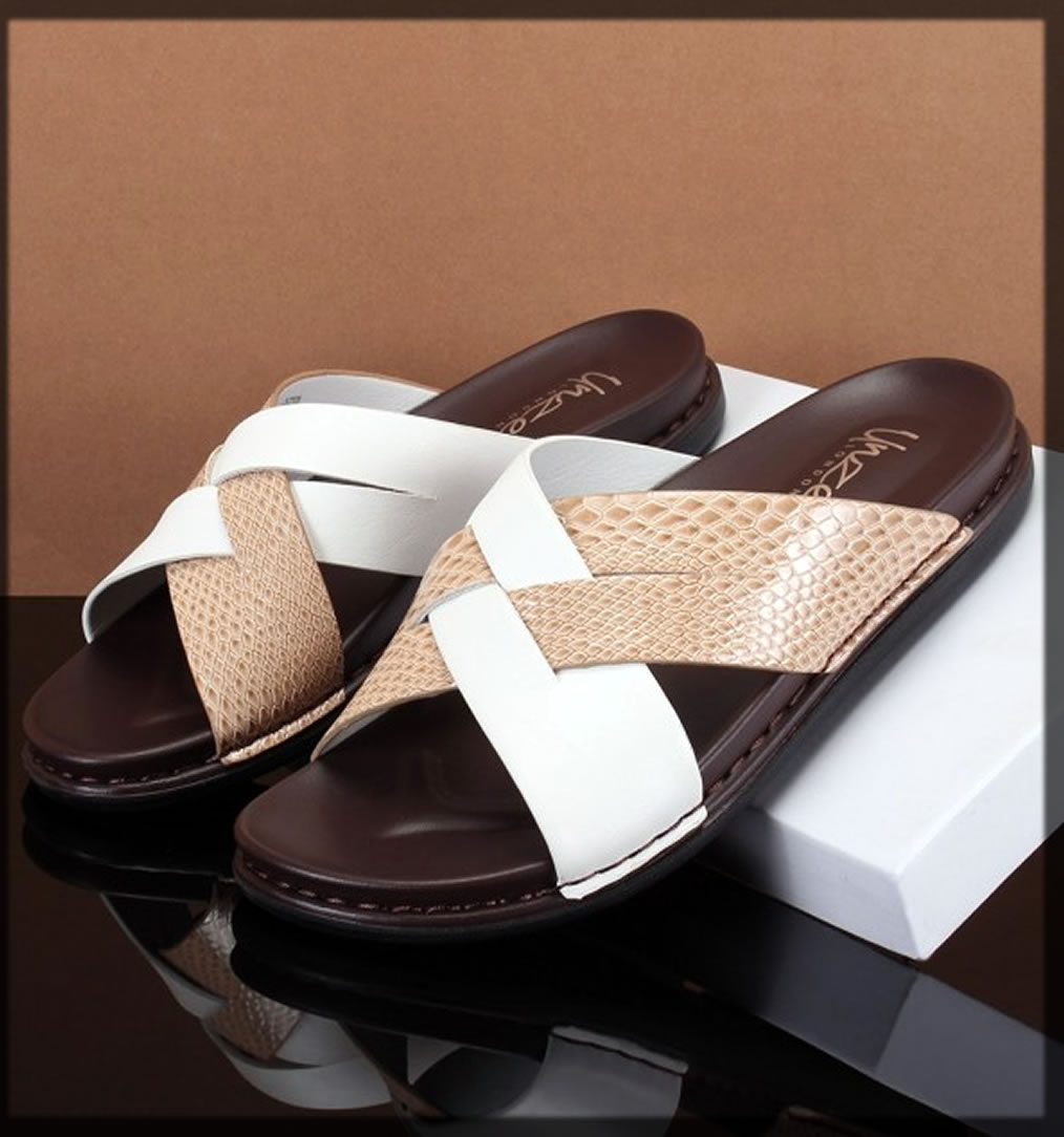 white and brown summer shoes for men