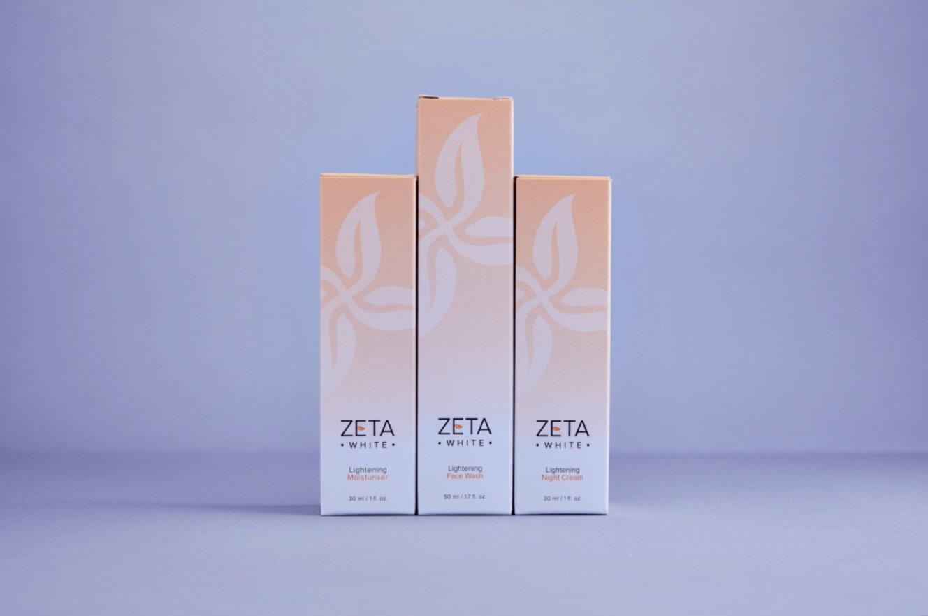 Zeta whitening cream