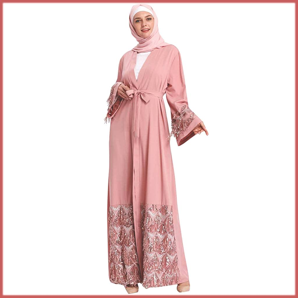 Abaya With Pearls