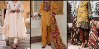 Almirah Eid Collection 2021 with Prices - Women Festive Eid Dresses