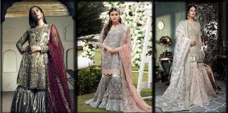 New Bridal Gharara Designs 2021 in Pakistan - Wedding Gharara Dresses