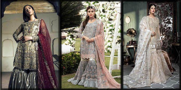 Beautiful bridal gharara designs